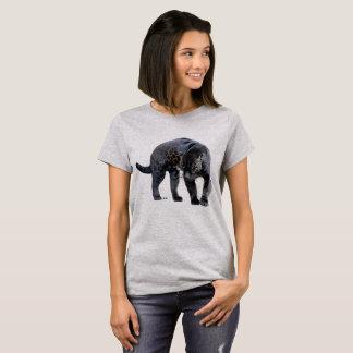 Jaguar Diablo women steel gray shirt