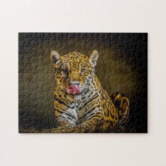 Jaguar Digital Art 02 - Photo Puzzle
