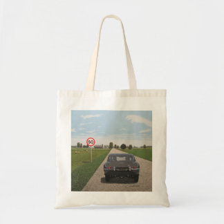 Jaguar E-Type 9600 HP Tote Bag