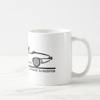 Jaguar E-Type Basic White Mug