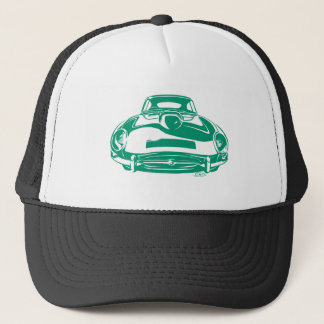 Jaguar E type (green) Trucker Hat