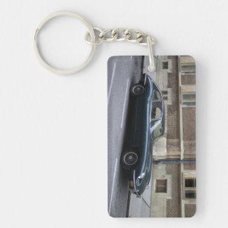 Jaguar E-Type Hardtop Key Ring