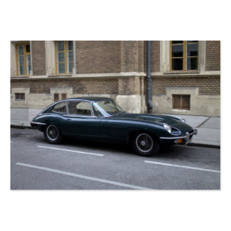 Jaguar E-Type Hardtop Pack Of Chubby Business Cards