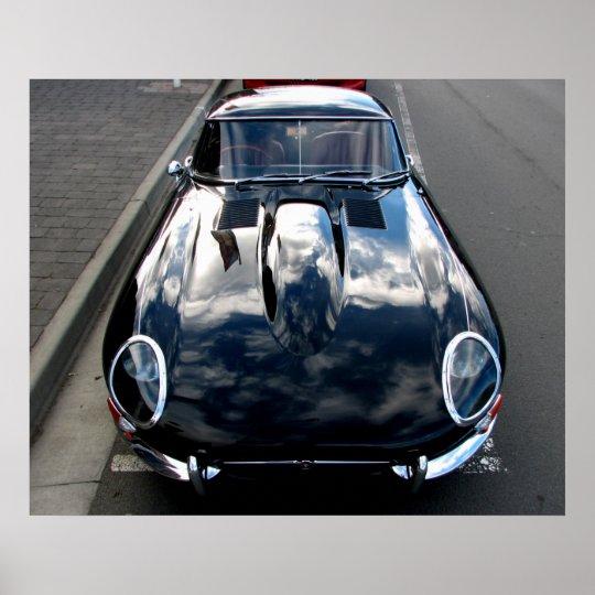 Jaguar E-Type Poster