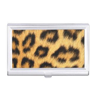 Jaguar Fur 2 Business Card Holder
