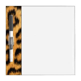 Jaguar Fur 2 Dry Erase Board