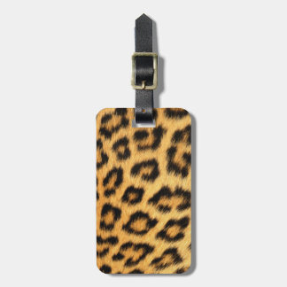 Jaguar Fur 2 Luggage Tag