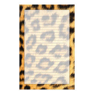 Jaguar Fur 2 Stationery