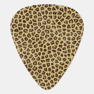 Jaguar Fur Pattern Plectrum