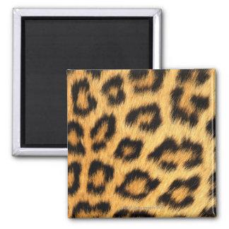 Jaguar Fur Square Magnet