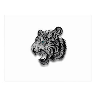 Jaguar Leopard Print  Panther Pattern Postcard
