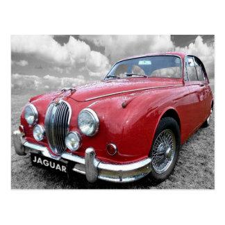 Jaguar Mark 2 Postcard