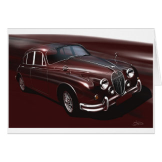 Jaguar Mk2 red Card