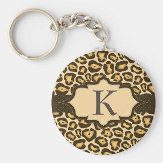 Jaguar Monogram Ribbon Keychain