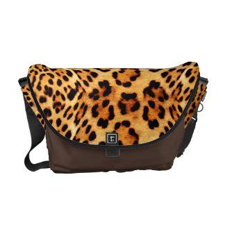 Jaguar pattern Messenger bag