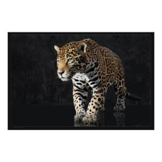 Jaguar Power 2 -60x40 -other sizes available Poster