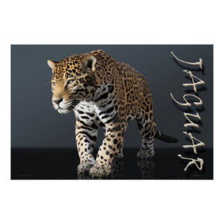 Jaguar Power Poster -36x24 -other sizes available