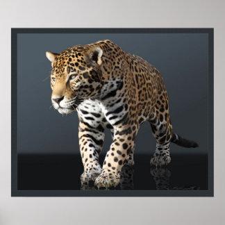 Jaguar Power Print