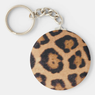 Jaguar Print Key Ring