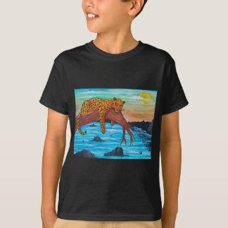Jaguar reposing on branch T-Shirt