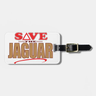 Jaguar Save Luggage Tag