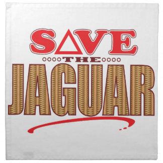 Jaguar Save Napkin