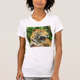 Jaguar shows its teeth, Belize T-Shirt