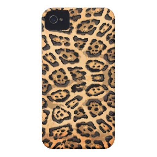 Jaguar Skin Blackberry Case