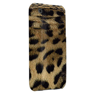 Jaguar Spots Jaguar Fur Wild Cat Animal-Lover iPhone 3 Case-Mate Case