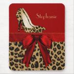 Jaguar Stilettos Custom Mouse Pad