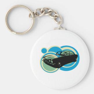 Jaguar XJ6 classic british car Key Ring