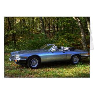 Jaguar XJS V12 Cabriolet Card
