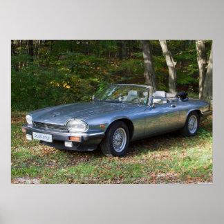 Jaguar XJS V12 Cabriolet Poster