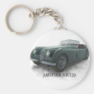 JAGUAR XK120 KEY RING