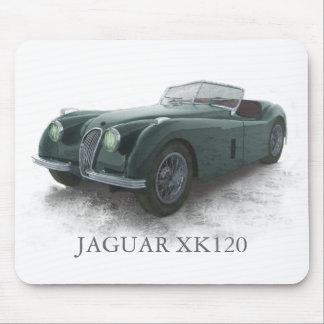 JAGUAR XK120 MOUSE MAT