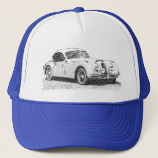 Jaguar XK120 Trucker Hat