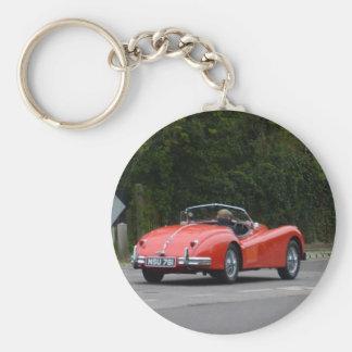 Jaguar XK140 Key Ring