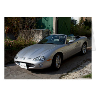 Jaguar XK8 Cabriolet Card