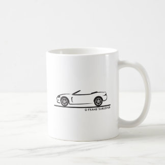 Jaguar XK Roadster Basic White Mug