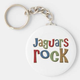 Jaguars Rock Key Ring