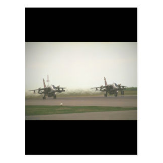 Jaguars taking-off_Military Aircraft Postcard