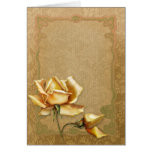 "Jaguarwoman's ""Special Occasions Yellow Roses II"" Greeting Cards"