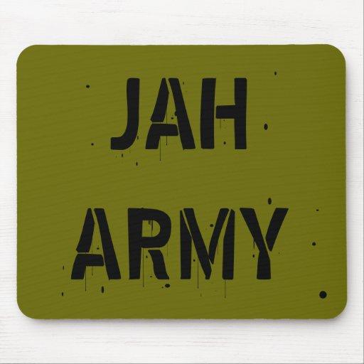 Jah Army Design Mousepad