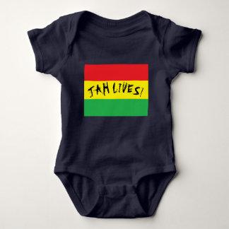 Jah Lives! Baby Bodysuit