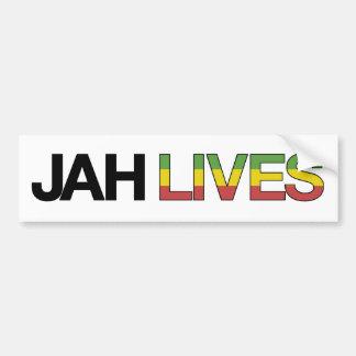 Jah Lives Bumper Sticker