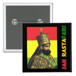 Jah Rastafari Button