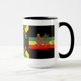 Jah Rastafari - Lion Of Judah - Rasta - Coffee Mug