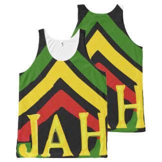 Jah Rastafari Unisex Tank