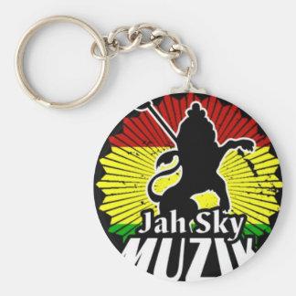 Jah Sky Muzik Key Chain