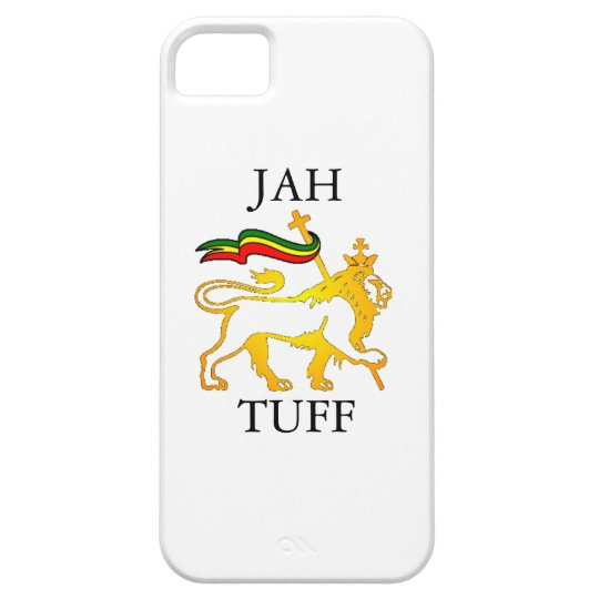 JAH TUFF iPhone 5 Cover - white